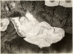 1956.12 Helen (Baran) Dasson - as baby at Christmas 01