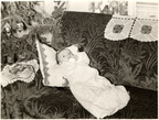 1956.12 Helen (Baran) Dasson - as baby at Christmas 02